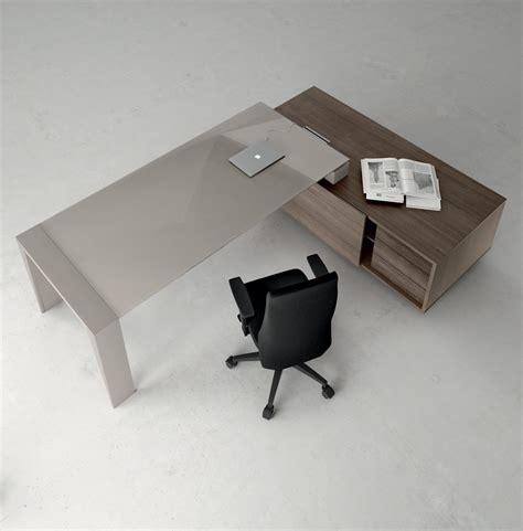 piano per scrivania scrivania piano vetro direzionale go 1 arredamento per