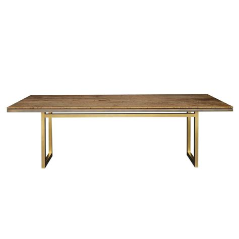 Metal And Wood Dining Tables Gotham Dining Table Customizable Wood And Metal For Sale