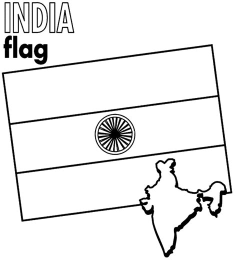 Free Coloring Pages Of Indian Flag Indian Flag Coloring Page