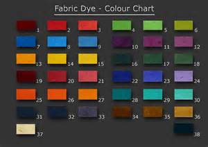 fabric dye colors fabric dye colour chart
