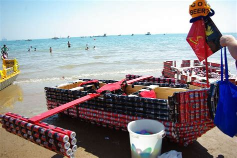 on a boat beer 15 creative ways to repurpose your old beer cans