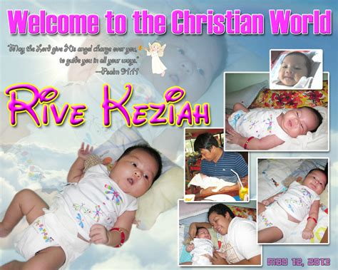 tarpaulin layout design for christening rive keziah s christening tarpaulin cebu balloons and
