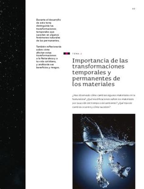 imagenes de transformaciones temporales issuu ciencias naturales 6to grado by sbasica