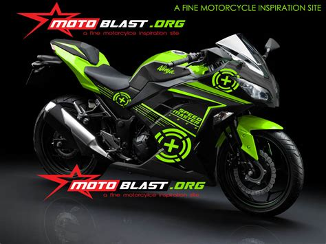 Decal Striping Kawasaki 250 Fi 1 modif striping kawasaki 250 fi auto design tech