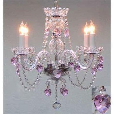 girls bedroom chandeliers swarovski crystal trimmed chandelier lighting with pink