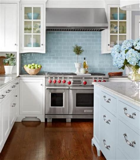 cottage kitchen backsplash ideas 17 best images about blue themed rooms on house tours hue and blue tiles