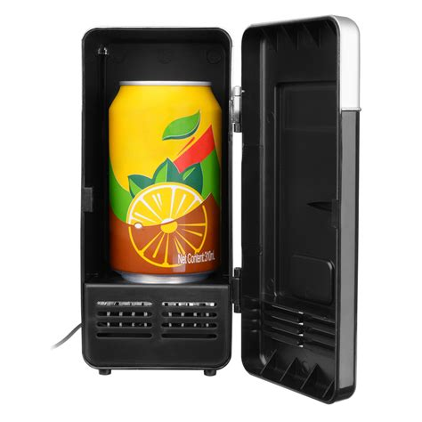 portable usb mini desk fridge and drink cooling warmer for