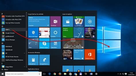 raccourci bureau windows windows 10 cr 233 er un raccourci d une application sur le