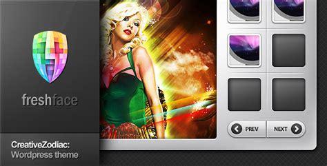 Creative Zodiac Portfolio Blog Wordpress Theme By Freshface Themeforest Videohive Templates Kickass