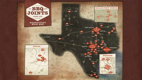 best bbq in texas map bbq passport
