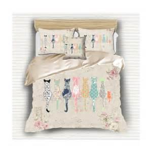 shabby chic childrens bedding shabby chic bedding cat duvet cover bedding shabby chic