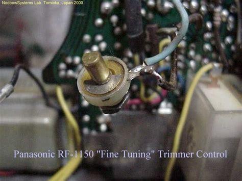 panasonic rf  restoration projects noobowsystems lab