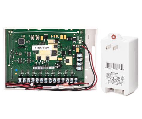 honeywell 5800c2w hardwire to wireless system 9 zone