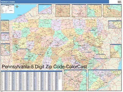 zip code map western pa pennsylvania zip code map from onlyglobes com