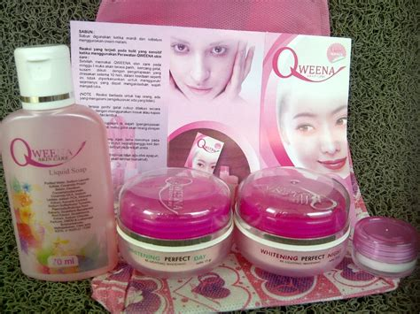 Bedak Qweena qweena skin care normal normal skin griya herbal