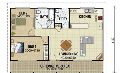 2 bedroom guest house plans 25 simple 2 bedroom guest house floor plans ideas photo