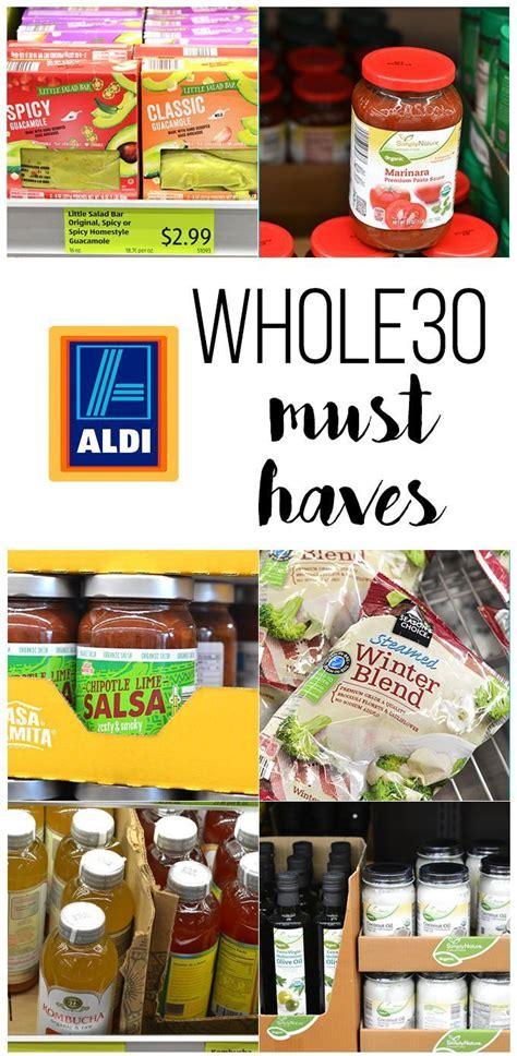 Must Haves For 2007 Your Shopping List by This Shopping List For Whole30 Must Haves From Aldi Is The