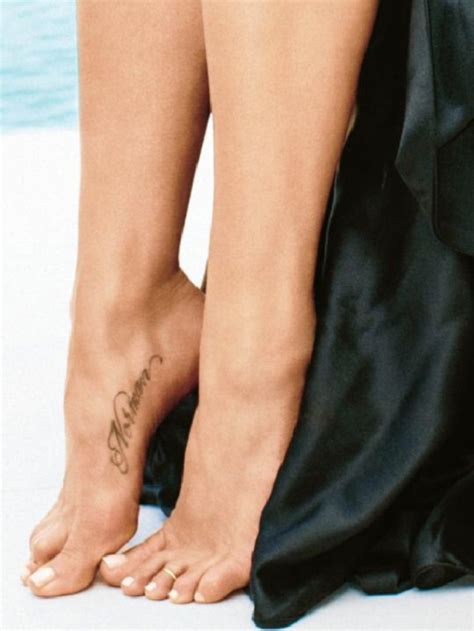 jennifer aniston s 1st tattoo a tribute to her beloved