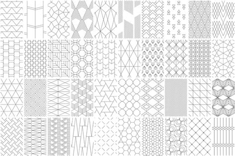 line pattern easy 40 seamless geometric line patterns