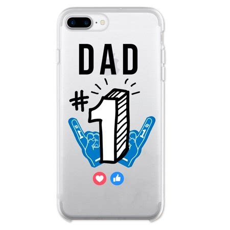 ish original official number 1 phone cover slim soft tpu for apple iphone 8 plus
