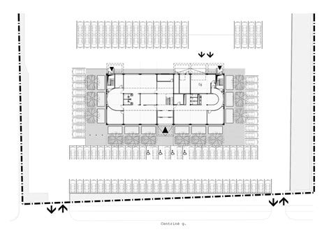 building site plan gallery of transport and logistic company office building