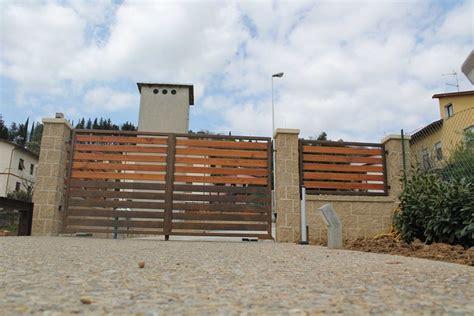 ferro corten cancello in ferro corten e legno arkibugi progettazione