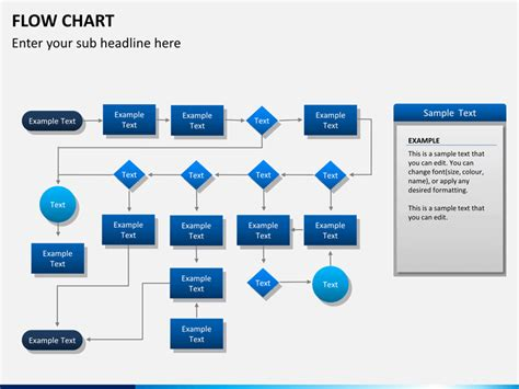 Powerpoint Flow Chart Template Sketchbubble Powerpoint Flowchart Templates