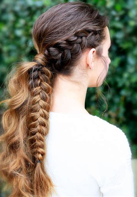 Braided Hairstyles For Haired by 31 Whimsical Braids For Haired Byrdie