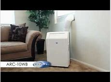 Whynter ARC-10WB Portable Air Conditioner Installation ... Portable Air Conditioner