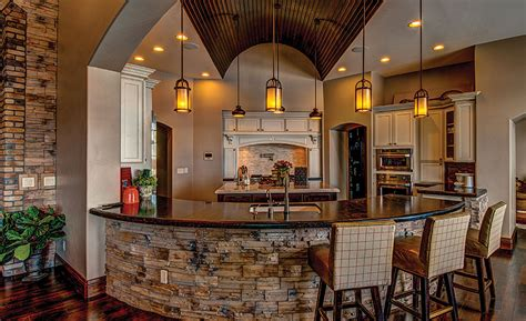 italian stone enhances beauty  colorado residence