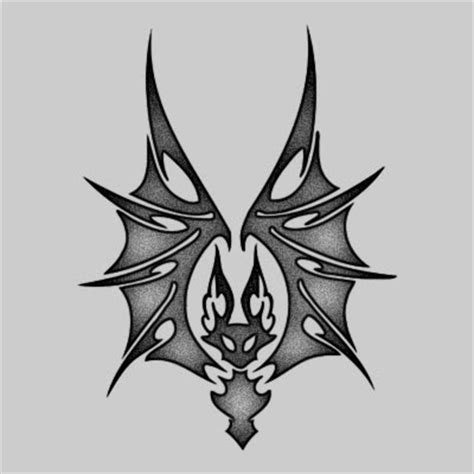 tribal bat tattoos ideaschopper website design boondock