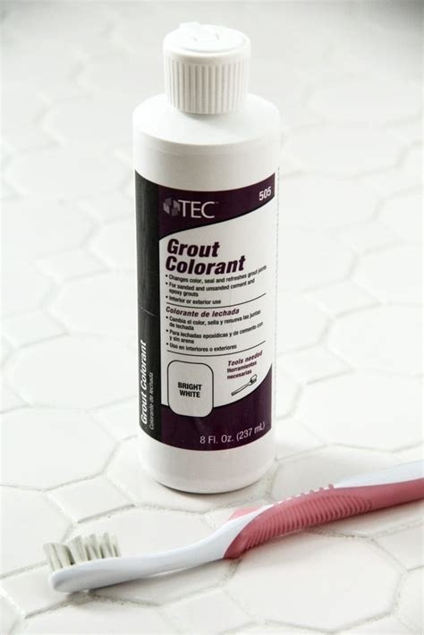 Cleaning White Grout Cleaning White Grout How To Refresh White Grout On Tile Floors Clean White Grout How To