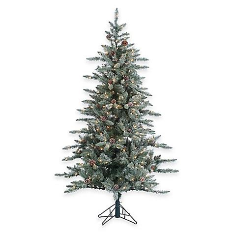 lightly flocked trees trees gt 6 foot x 45 inch lightly flocked