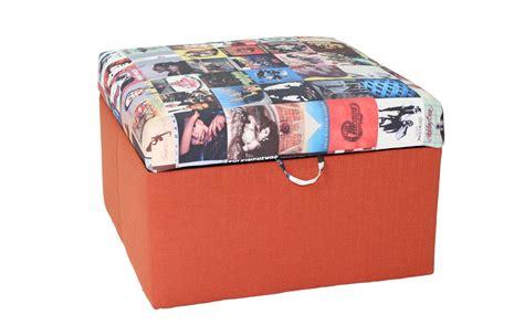 stylish ottomans orange storage ottoman stylish and functional storage