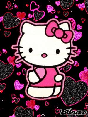 imagenes de emo kitty immagine hello glitter 122139695 blingee com