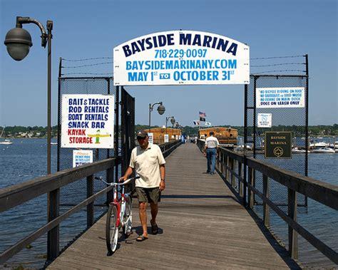 boat launch queens bayside marina little neck bay queens new york city