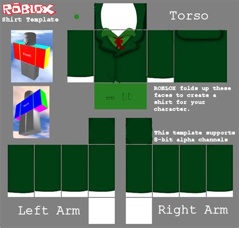 roblox guest shirt template