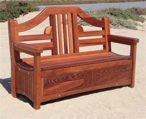 wood patio storage bench patio storage bench landscaping exles pinterest