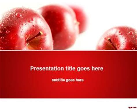 Free Apples Nutrition Powerpoint Template Free Nutrition Powerpoint Templates