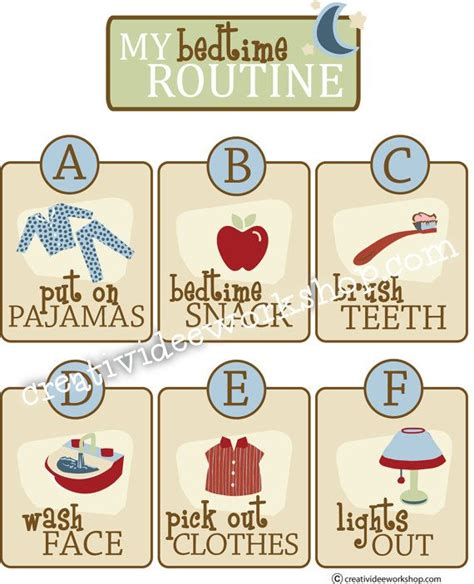 25 best ideas about bedtime printable personalized bedtime routine chart instant printable bedtime by