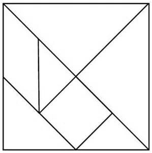 tangrams template 25 best ideas about tangram printable on free