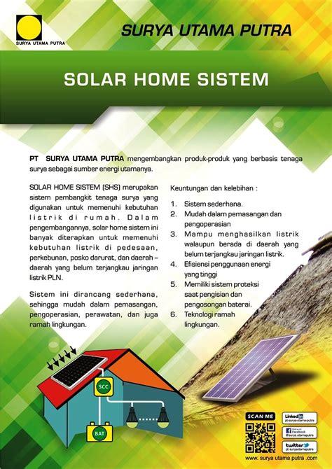 Kalkulator Office 10 Digit Energi Tenaga Solar Surya solar home system pt surya utama putra