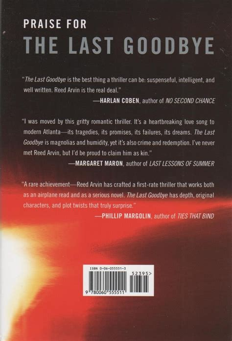 The Last Goodbye the last goodbye by reed arvin hardcover fiction literature