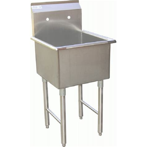 stainless steel mop sink gsw se18181m one compartment stainless mop sink