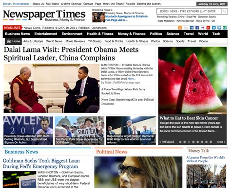 theme advanced newspaper newspapertimes an advanced newspaper theme for wordpress