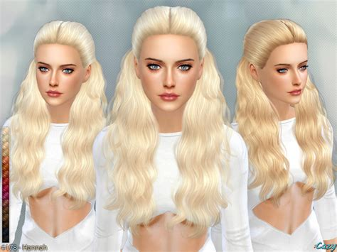 how to download hairstyles in sims 4 the sims resource hannah female hairstyle by cazy
