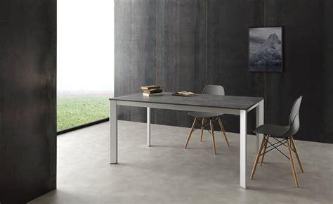 tavoli in alluminio tavolo allungabile mack in alluminio legno design moderno