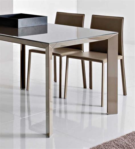 tavolo di cristallo allungabile tavolo da 160 allungabile diamante di point house in vetro