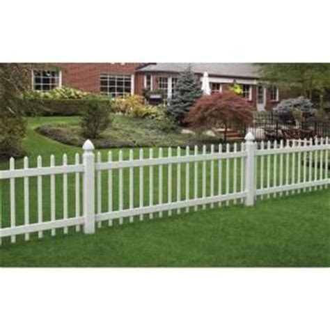 veranda 3 ft x 8 ft chelsea spaced picket vinyl fence