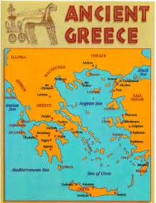 Map Of Classical Greece mskenerson greece geography